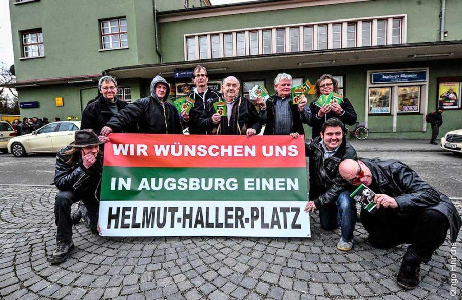 Der Helmut Haller Platz