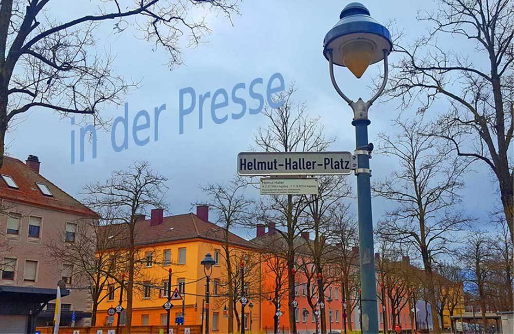 Kunst und Soziokultur am Helmut-Haller-Platz