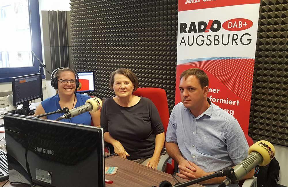 zu Gast im Radio